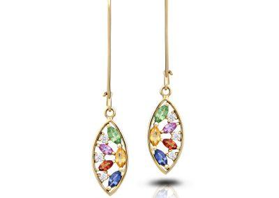William Greene Fine Jewelry Design - Sainte Chapelle Earrings